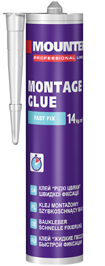 Montage glue fast fixing